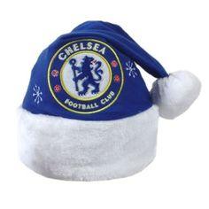 f72ffa7ce85 Chelsea FC Football Club Santa Christmas Hat