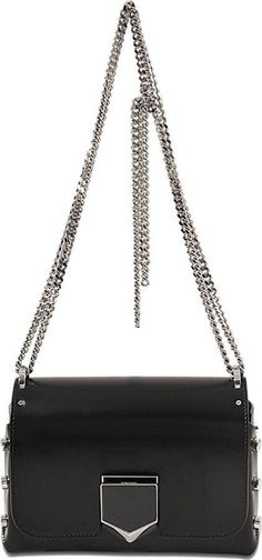 Jimmy Choo Lockett Petite bag in spazzolato leather