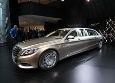 Mercedes-Maybach S600 Pullman — LiveCars.Ru