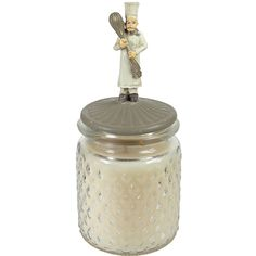 Turkish Green Fig Scent Chef's Essential Candle with Lid