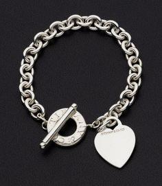 Tiffany OFF! Sterling Silver Bracelet Tiffany Co. Sterling Silver Bracelets, Silver Jewelry, Silver Ring, Silver Earrings, Pandora Bracelets, Silver Bangles, Pandora Jewelry, Gold Jewellery, 925 Silver
