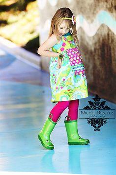 rain boots make me smile :-) I Smile, Make Me Smile, Rain Shoes, Children Photography, Lily Pulitzer, Urban, Boots, Kids, Dresses