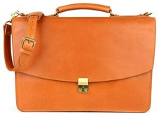 Men's Luxury Leather Briefcase |