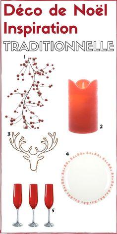 Décoration de Noël inspiration traditionnelle [SHOPPING]  http://www.homelisty.com/inspirations-deco-noel-objets-deco/
