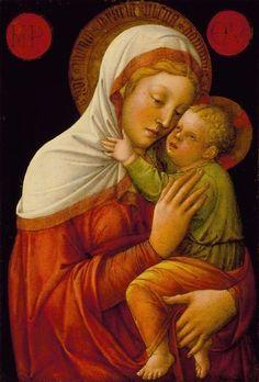 Jacopo Bellini, Madonna and Child (circa 1465)
