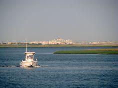 Bay off Somer's Point, NJ., across  the bridge from Ocean City.