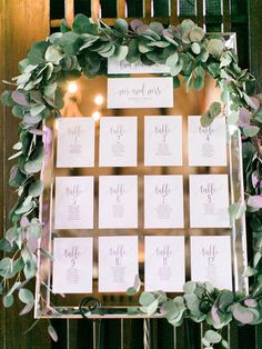 Wedding Seating Chart Template, Seating Plan, Wedding Seating Cards, Table Cards, Seating Cards, PDF Instant Download #BPB203_5 from Bliss Paper Boutique $16.50