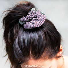 Trendy scrunchie <3