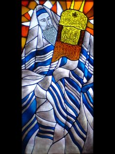 Jewish images in stained glass