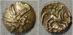 Celtic stater of Addedomaros 37 - 33 BC