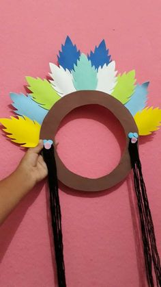 Kids Crafts, Easter Arts And Crafts, Preschool Crafts, Fall Crafts, Diy And Crafts, Paper Crafts, Indian Birthday Parties, Kids Around The World, Thanksgiving Crafts For Kids
