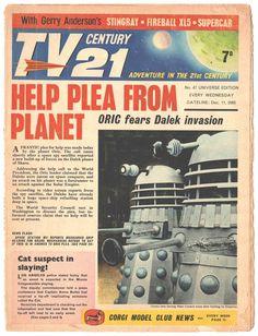 Creepy Comics, Fun Comics, Joe 90, Melissa Supergirl, Second Doctor, Sci Fi Tv, Classic Sci Fi, Dalek, Dr Who