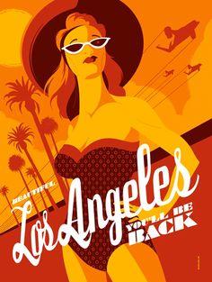 Posters mostram os melhores destinos turísticos de filmes dos anos 80 » Brainstorm9