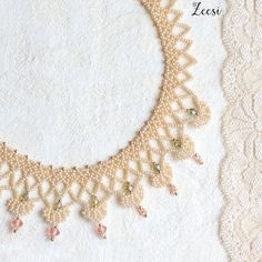 Anne Lace oscuro de la reina perlas collar de perlas por Zeesi