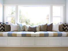 Window Seat - Decorative Storage Solutions on HGTV