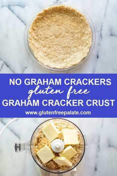 No graham crackers needed! Learn how to make a from-scratch gluten free graham cracker crust using only six ingredients, and gluten free graham crackers isn't one of them.