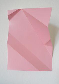 Origami folding inspires Spring Summer 2015 fashion