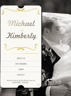 Michael Kimberly Facebook Flash CMS Templates by Oldman