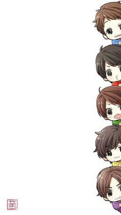 嵐 Anime Chibi, Manga Anime, Ninomiya Kazunari, Japanese Boy, Pop Bands, Art Forms, Cute Art, Idol, Fan Art