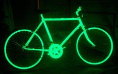 glow in the dark bicycle - Google Search