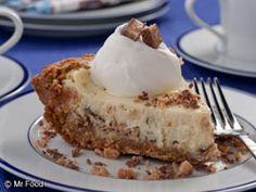 Tasty Toffee Cheesecake Pie