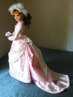 Ellowyne Wilde Outfit Victorian Bridesmaid's Ensemble with Wig Shoes | by pollyswardrobe4dolls via eBay SOLD 7/18/14 $180.00