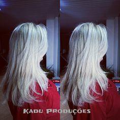 Blond feito por mim!