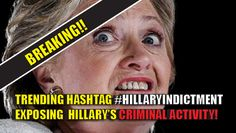 With the indictment of Hillary looming, Trump's Twitter supporters set out to EXPOSE Clinton for the lying, cheating criminal she is with a new viral hashtag #HillaryIndictment, which is trending NATIONALLY! We are on the verge of a #HillaryIndictment. pic.twitter.com/REOhsBxSHm — We Need Trump (@WeNeedTrump) November 3, 2016 Not 1 but 2 indictments on the way. 1 for email mess AND another for Clinton Foundation. Tick tock. #HillaryIndictment pic.twitter.com/ZSfpXZW96U — Amy Moreno…