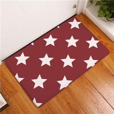 Star Floor Mats (15 Types 2 Sizes)  Free Shipping!