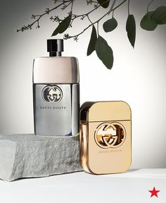 What could be better than his and hers Gucci fragrances? His is the fresh and understated Gucci Guilty Pour Homme. And for the ladies, the glamorous and oh-so sexy Gucci Guilty. You can find both at Macy's.