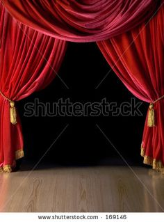Red Velvet Theater Curtains By Fotocrisis, Via ShutterStock