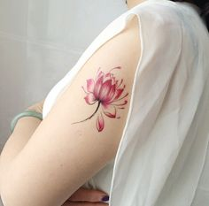 23 Pink Tattoo Ideas for Girls (5)
