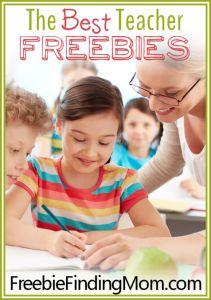 The Best Teacher Freebies
