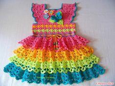 Здравствуйте дорогие Страна Мамочки!!!  В ОК, на страничке у Татьяны Солохиной http://ok.ru/  встретила вот такое чудесное платьице, очень понравилось сочетание цветов.