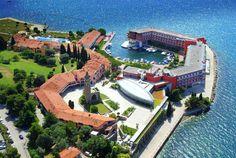 Portoroz, Slovenia ~ The resort of Hotel Belvedere is located in the heart of the Slovenian coastline.