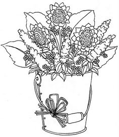 This site has lots of beautiful free printables.. most with colored examples.