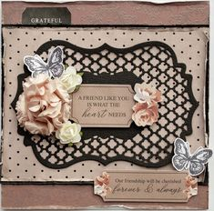 Rosabella Ornate Bracket Layering Die Cards - Kaisercraft Blog
