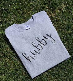 Hubby Shirt by handsfullfullheart on Etsy