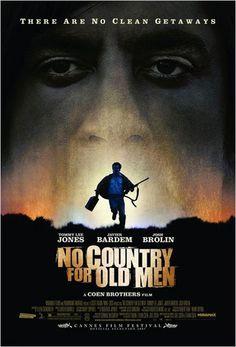 No Country for Old Men -  Joel & Ethan Coen (2008) Javier Bardem, Tommy Lee Jones, Josh Brolin d'après le roman de Cormac McCarthy