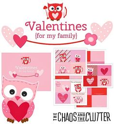 Family Scripture Valentines - These are perfect for families with preschoolers or families who homeschool!
