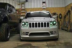 Green Grand Cherokee Srt8, Jeep Grand Cherokee Limited, Jeep Cherokee, Jeep Wk, Jeep Srt8, Jeep Wrangler Unlimited, 4x4, Bike, Vroom Vroom