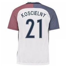 2016-17 France Away Shirt (Koscielny 21) - Kids