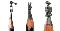Ordinary Pencils Become Mini Masterpieces In The Hands Of One Talented Man