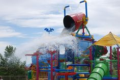 """""""Splash Park"""" at the Clubhouse - largest private waterpark - a hit with the whole Sahuarita Arizona, Splash Park, Water Parks, Pools, Scene, Places, Ideas, Ranch, Thoughts"""