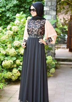 Multicolored Fancy Lace Abaya Designs 2016-2017   BestStylo.com