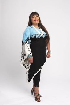 Patricia Michaels - 1st Native American designer to compete in Project Runway! From Taos, New Mexico