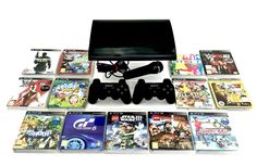 Playstation 3 Ps3 Console Bundle 13 Games 1 Mic 2 Genuine Wireless Remotes vgc Ps3, Playstation, 13 Game, Video Game Console, Video Games, Ebay, Videogames, Video Game