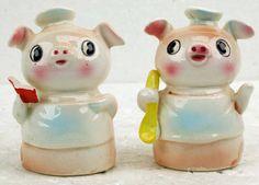 Vintage Retro Kitsch Mid Century Porcelain by RetroCentsStudio