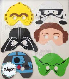 Máscara Star Wars em eva - Infantil