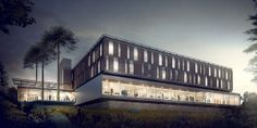 Commercial/Office by OBA , via Behance